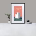 The Bjargtangar Lighthouse in Iceland