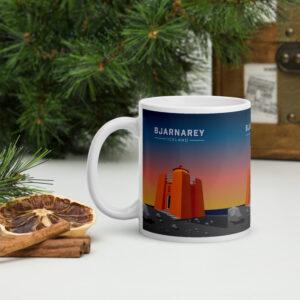 Bjarnarey island lighthouse for the morning coffee or the evening tea